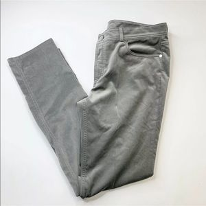 Loro Piana Velvet Pants 5 Pocket Grey Size 14